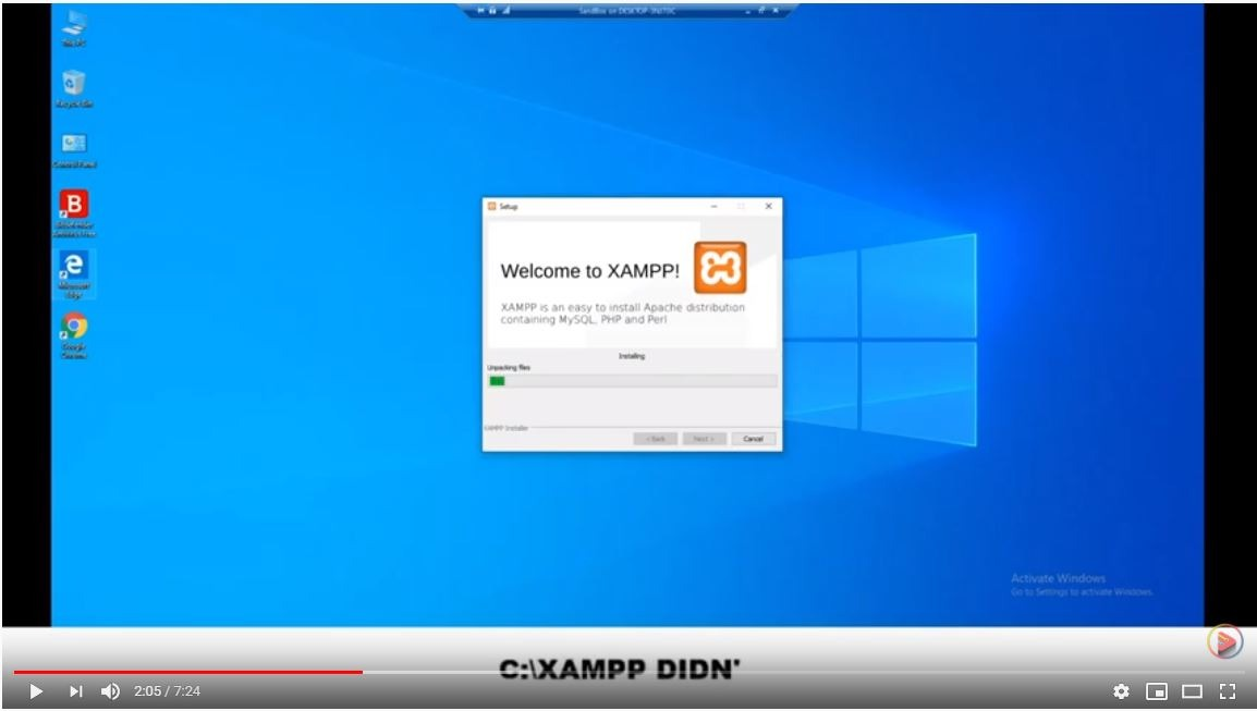 Install XAMPP on Windows 10 – Tutorial