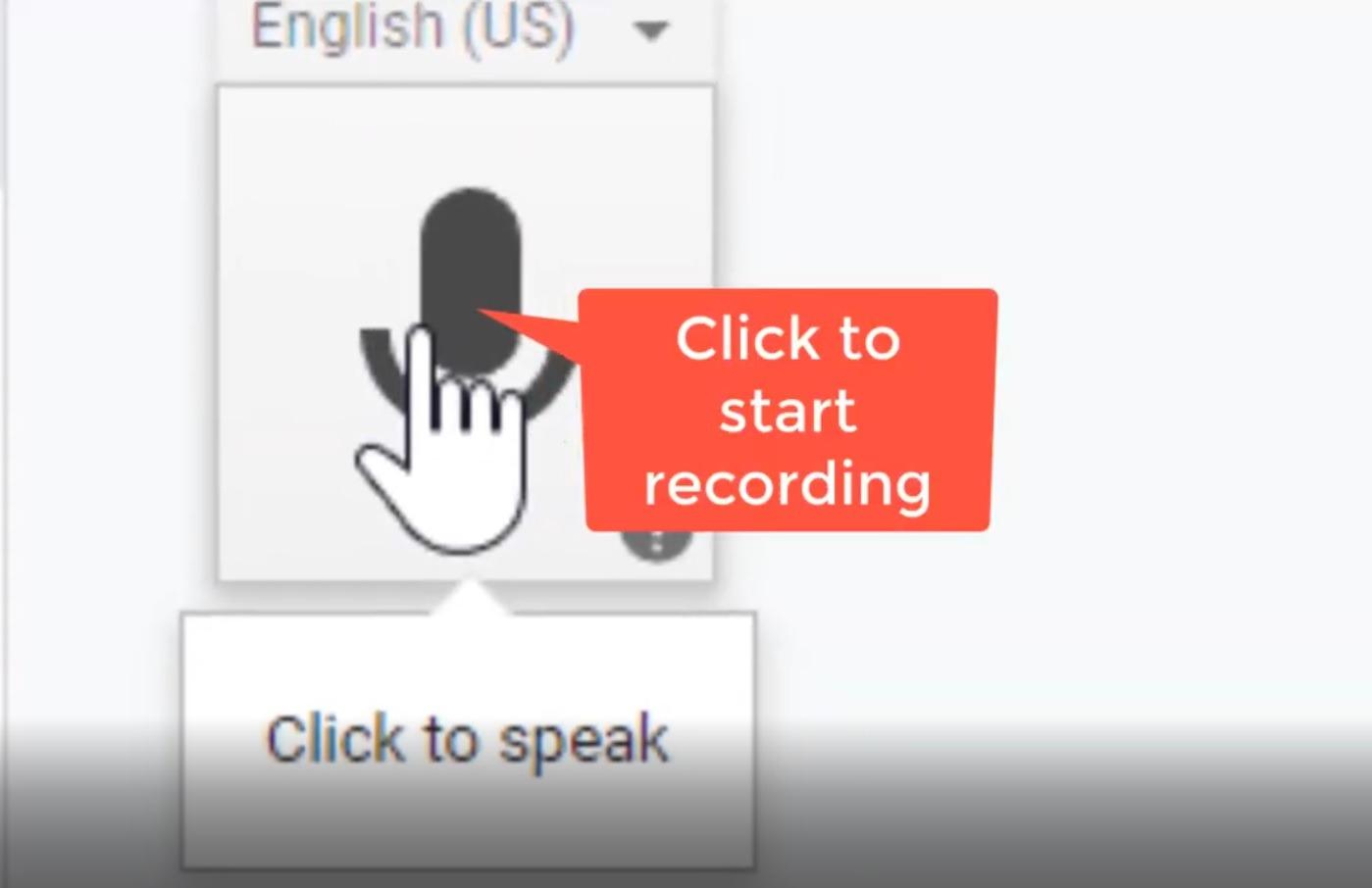 Speech to Text in Google Docs