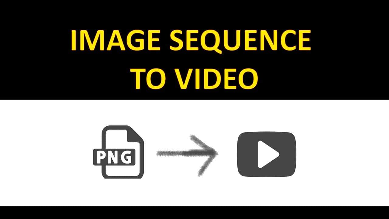 Conversion of Image Sequence to Video in Photoshop