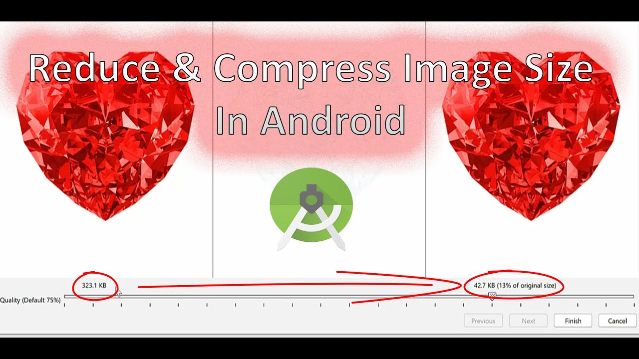 Android Studio: Reduce and Compress Image Size in Android