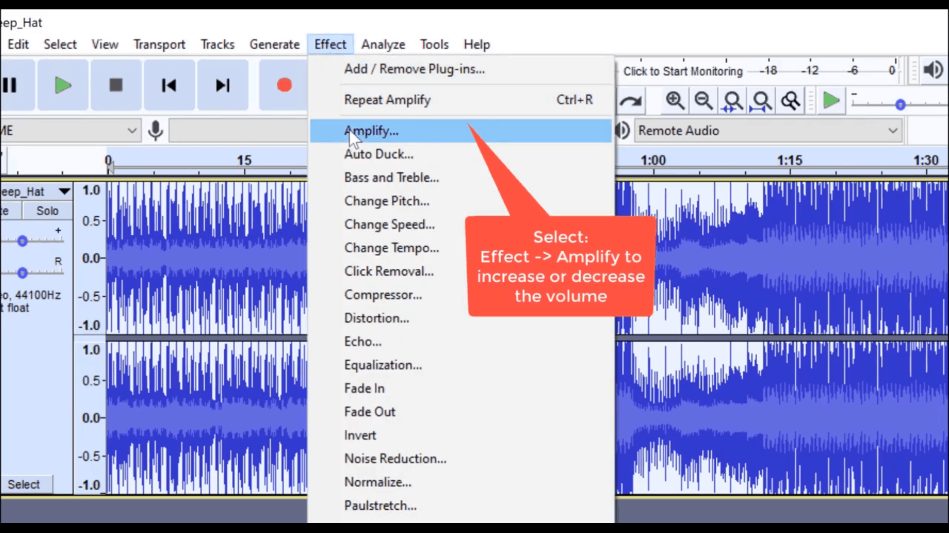 audacity audio effects