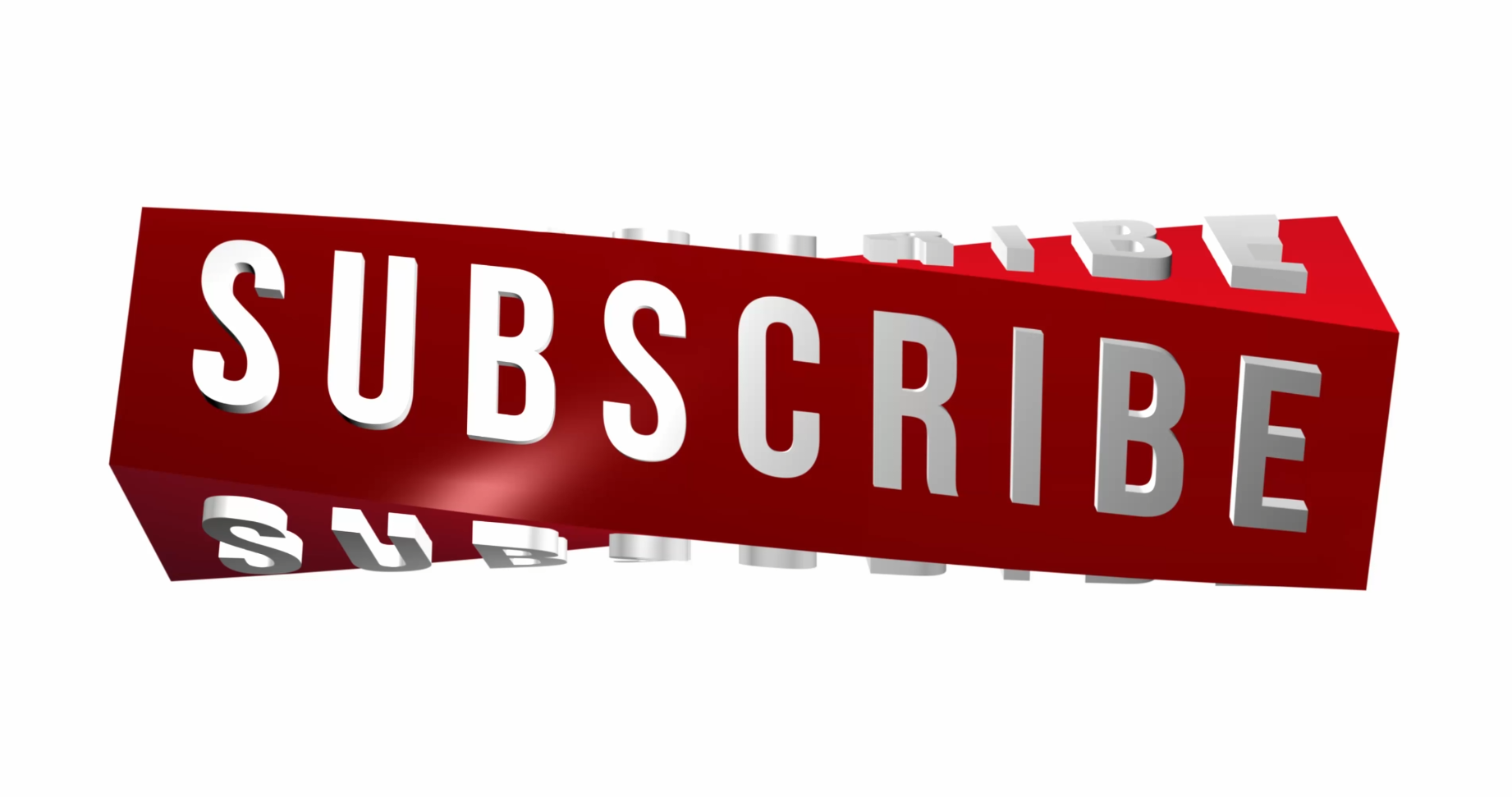 download free 4k 3d subscribe animation