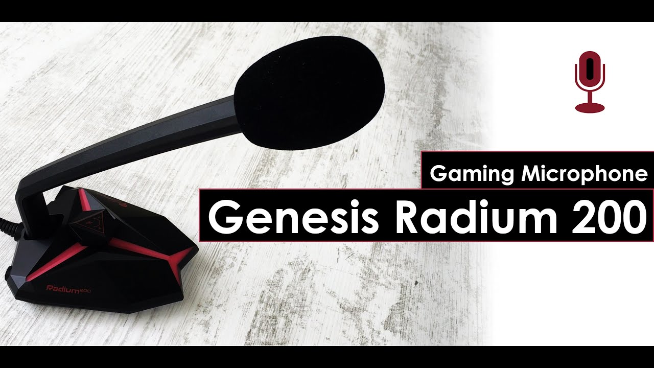 My First Gaming Microphone Under $40 – Genesis Radium 200 Backlight USB. Was it A Good Choice?!