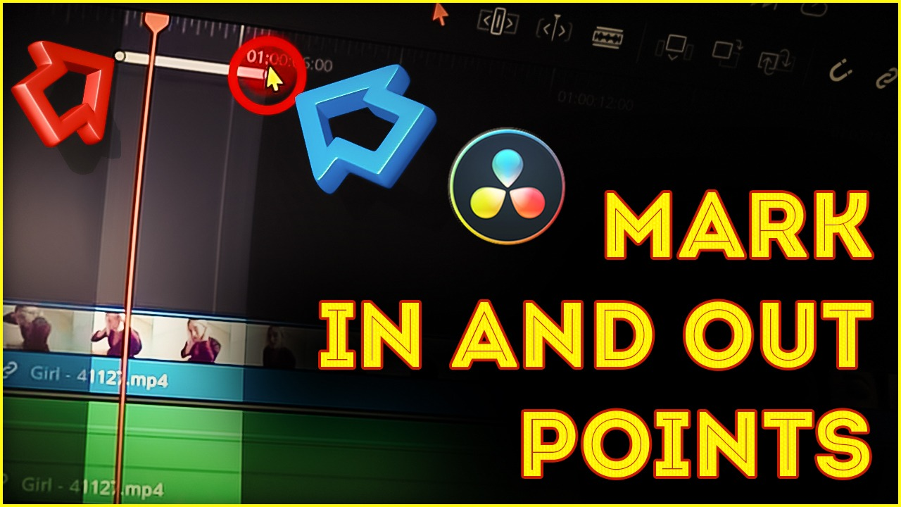All about Mark IN and OUT Points in DaVinci Resolve